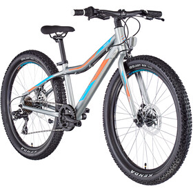 "Serious Trailkid 24"" Niños, silver/orange"